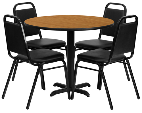 36Round_Natural_table_4_Bl_TrapezoidalBackChairs.jpg