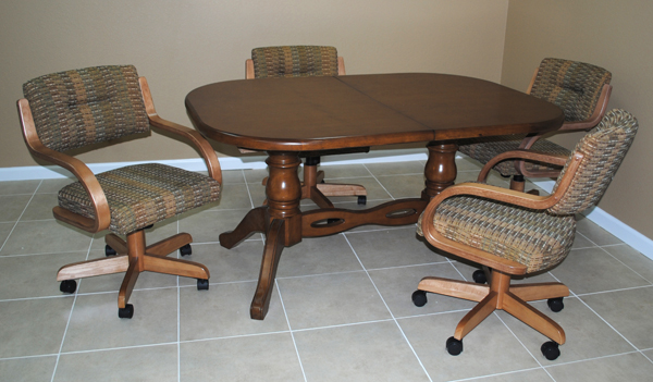 kitchen tables with swivel chairs 3