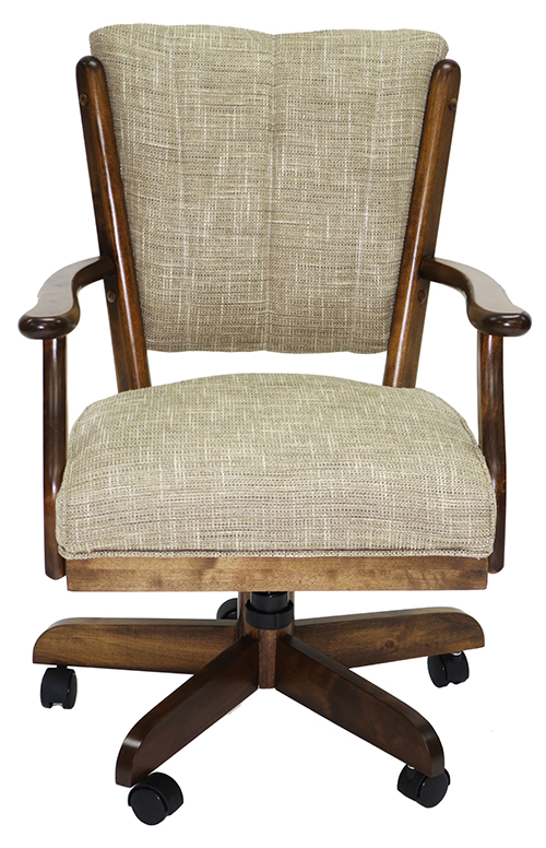 Classic Caster Chair - Tan