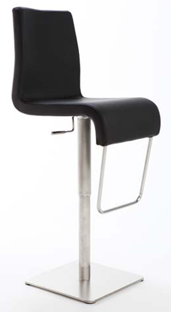 Stainless Brushed Steel Bar Stools