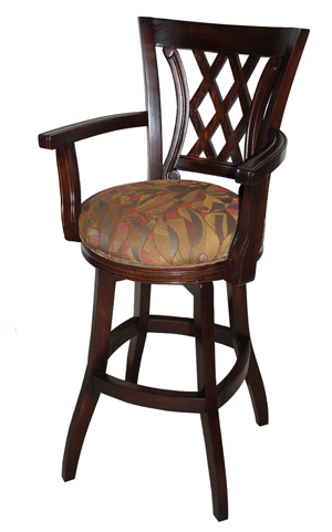 Solid Wood Swivel Stool 614 00 Tango Warms Sbase Jpg