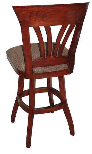 Solid Wood Swivel Bar Stool image 2