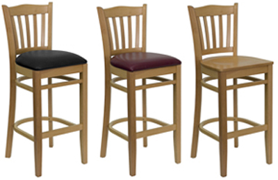 $118.00 wood_Slat_Back_Natural.jpg : natural wood counter stools - islam-shia.org